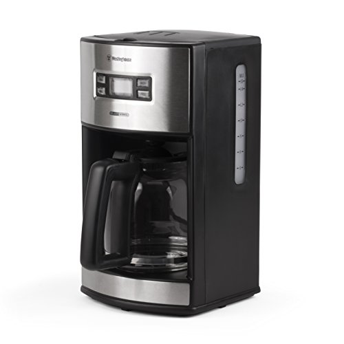 Westinghouse WCM12BSSA Select Series 12 Cup Programmable Coffee Maker, Black - Amazon Exclusive