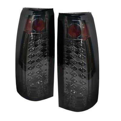 Spyder Auto 111-Cck88-Led-Sm Led Tail Light- Smoke Lens/Chrome Housing