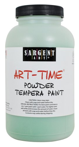 Sargent Art 22-7166 1-Pound Art Time Powder Tempera, Green - 1