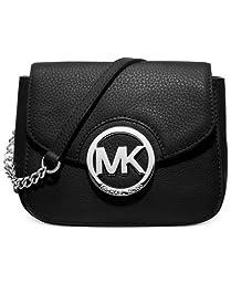 Michael Michael Kors Fulton Small Crossbody Womens Black Travel Messenger
