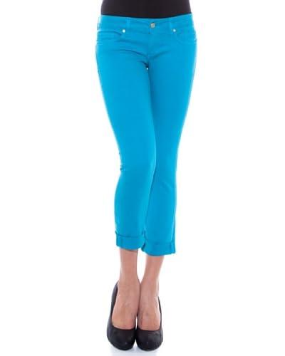 7 Seven LA Pantalone Capri Mara [Azzurro]