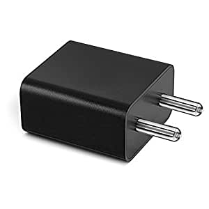 LG F60 Compatible Compatible Charger Adapter / Travel Charger / Mobile Charger Without USB Cable (Genuine 2 Ampere) - Black