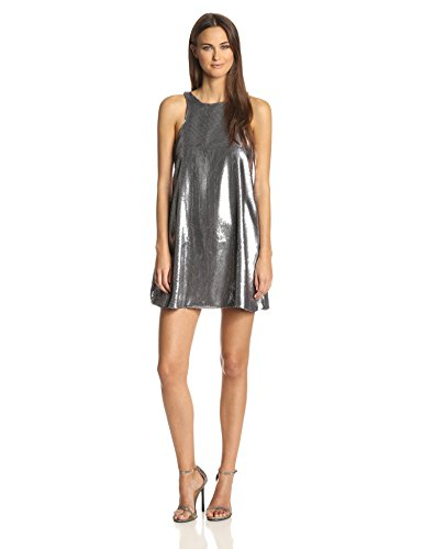 Glamorous Women'S Sequin Dress, Pewter, Small