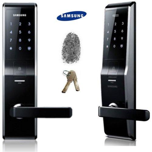 Fingerprint Samsung Shs-H700 New Version Of Samsung Shs-5230 Digital Door Lock Keyless Touchpad Security Ezon + 2Pcs Of Emergency Keys