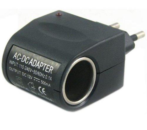 TIKOO Caricabatterie accendisigari su presa corrente 6030253