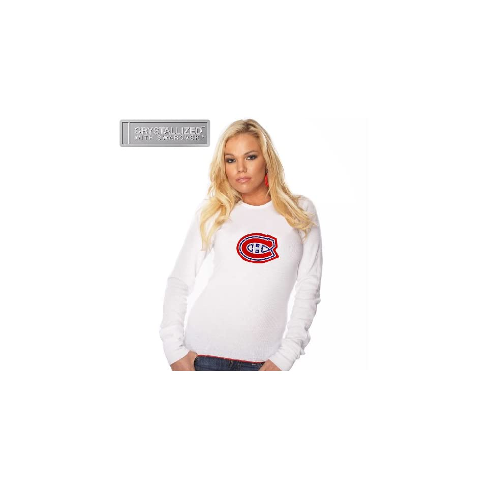 df6be5e70 Majestic Threads Montreal Canadiens Womens Baby Long Sleeve Thermal ...