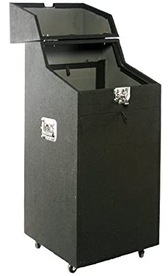 Mr.Dj RACK800 Full Dj Rack with Removable side panels with convenient wiring ports