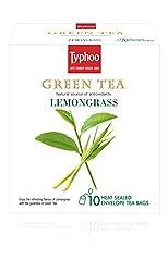 Typhoo Green Tea, Lemon Grass, 20g (10 Tea Bags)