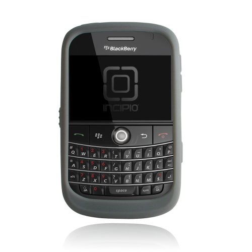 Incipio Technologies dermaSHOT Silicone Case for BlackBerry Bold 9000 (Grey)