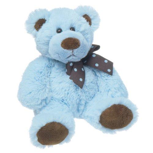 Mary Meyer Sweet Chocolate Plush Bear, Blue, Small