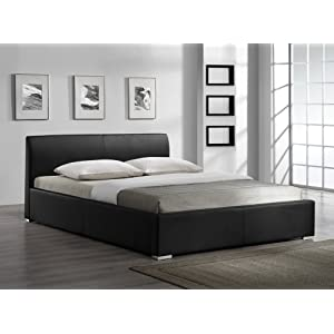best discount ikea matratzen lederbett polsterbett leder tex bett matratzen gr sse 160x200. Black Bedroom Furniture Sets. Home Design Ideas