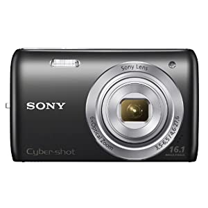 Sony DSC-W670/B 16.1MP Cybershot Digital Camera with 2.7-Inch LCD Screen (Black)