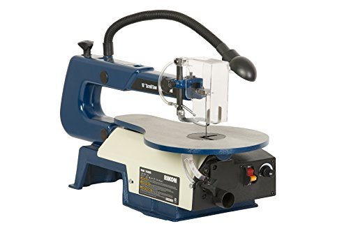10 600vs Scroll Saw With Lamp 16 Inch Inch Power Tools Slow Speed Bench Grinder Ebay