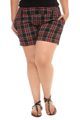 Torrid Plus Size Plaid School Girl Shorts