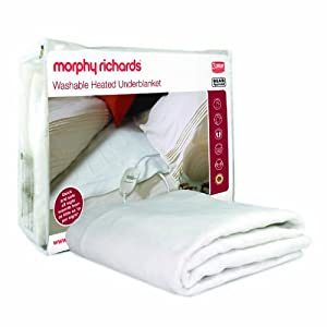Morphy Richards 75184 All Night Heated Double Underblanket