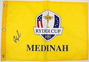 Buy Fred Couples Signed Autographed 2012 Ryder Cup Golf Flag #t09260 - PSA DNA Certified - Autographed...