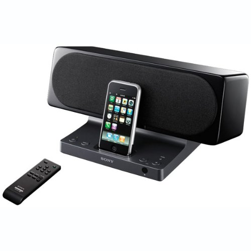 Sony SRSGU10iP 2Channel Dock speaker for iPod and iPhone (Black)