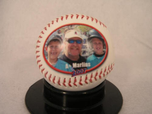 """AUBURN UNIVERSITY Fans - Tigers Baseball - Create YOUR personal fan ball, we can print your favorite photo, graphic, and text message on our signature balls in FULL color. AU"" at Amazon.com"