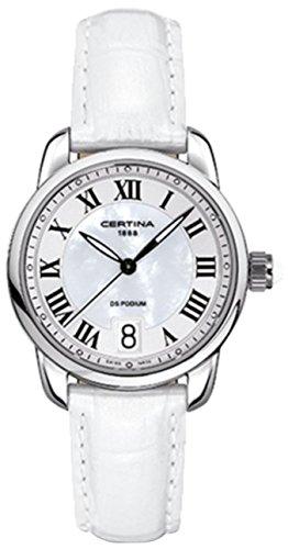 XS Analog Leather Quartz Ladies WristWatch Certina C025 210.16.118.01.