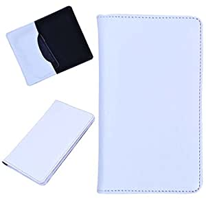 DCR Pu Leather case cover for Sony Xperia ion (white)