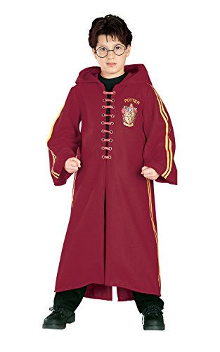 ? Harry Potter Quidditch Robe Super Deluxe Child Costume Harry Potter Quidditch Robe Super Deluxe Child Costume Halloween Size: Medium (Japan Import)