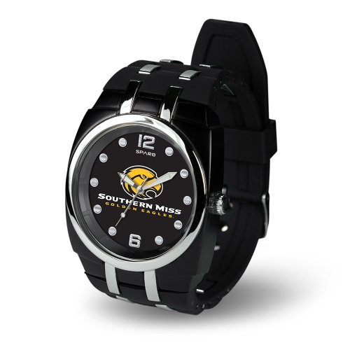 Ncaa Southern Mississippi Golden Eagles Crusher Watch, Black