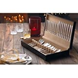 Living 58 Piece Stainless Steel Canteen Set, Made from stainless steel.