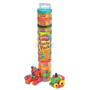 Hasbro Play-Doh Party Pak 10/Tube HSB22037