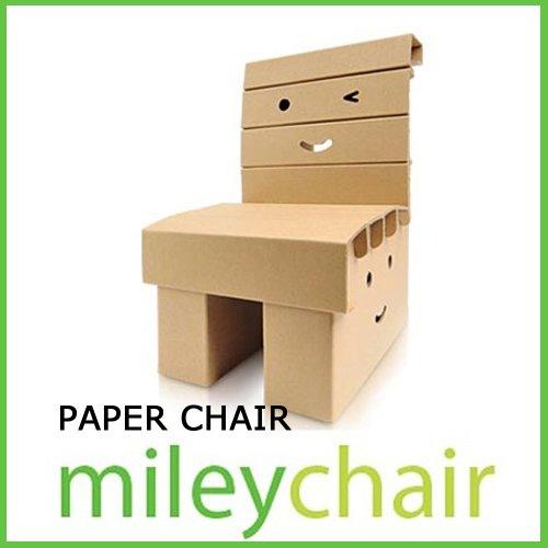 【子供用ダンボール家具】子供椅子「マイリーチェア」