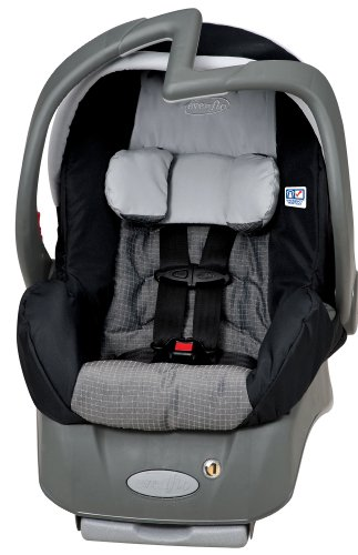 infant car child seat evenflo embrace lx infant car seat metro car child seats. Black Bedroom Furniture Sets. Home Design Ideas