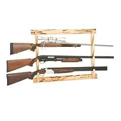 Rush Creek 3 Gun Wall Rack, Wooden, Small by Rush Creek