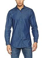 TORRENTE Camisa Hombre slim fit (Azul)