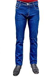 Meghz Regular Fit Jeans for Men (30)