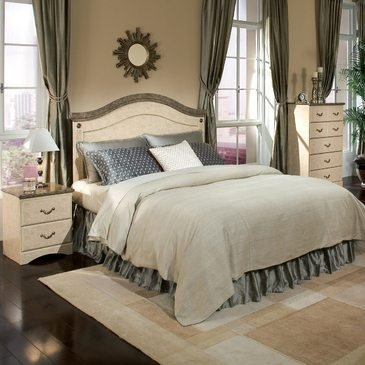 Standard Furniture Florence 2 Piece Panel Headboard Bedroom Set