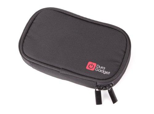 Duragadget Shock Absorbent, Water Resistant, Memory Foam External Hard Drive Case With Belt Loop In Black For Wd Western Digital Portable Se 500Gb, 640Gb, 750Gb, 1Tb, My Passport Essential 500Gb, Se 750Gb, 1Tb