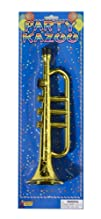 Forum Novelties Gold Trumpet Party Kazoo Play Musical Instrument