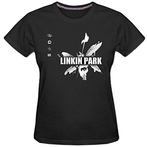 Kerner Women's Linkin Park Hybrid Theory Rock Cotton T-shirt