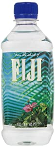 FIJI Natural Artesian Water, 16.9-Ounce Bottles (Pack of 24)