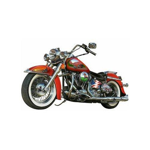Cheap Fun Sunsout Fast Lane Motorcycle Shaped 1000 Piece Jigsaw Puzzle (B00064SAUM)