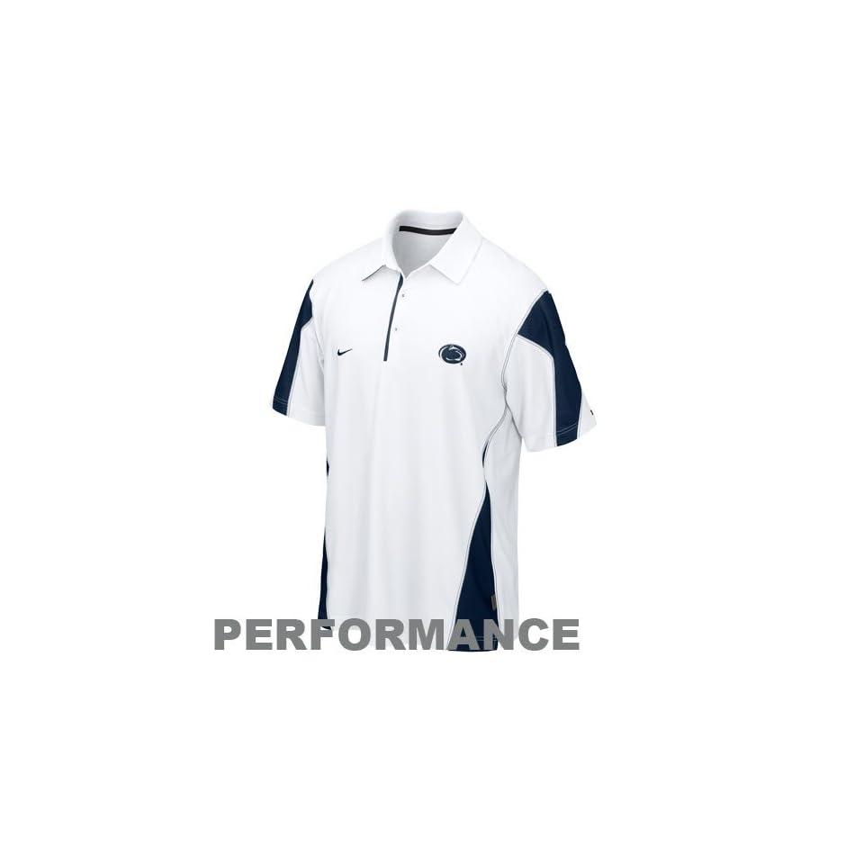 Penn State Lions 2010 Nike Sewn Polo Golf Shirt On Popscreen