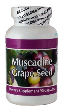 Muscadine Grape Seed 1 Bottle - 90 Capsules by Fresh Health Nutritions