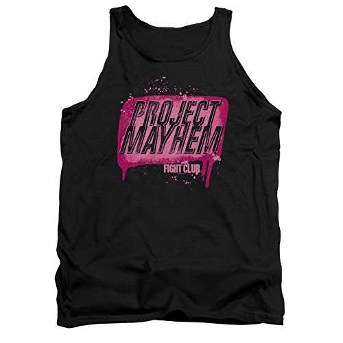 Fight Club 1999 Dramatic Action Movie Project Mayhem Soap Bar Adult Tank Shirt