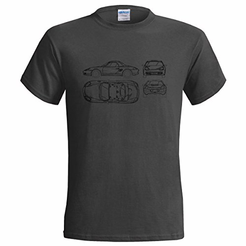 porsche-boxster-blueprint-mens-t-shirt-classic-car-sport-large42-44-charcoal