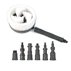 FAIP Powerwasher 80000 Universal Pressure Washer Rotary Brush Accessory Kit