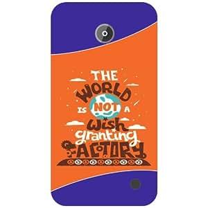 Nokia Lumia 630 Back Cover - The World Designer Cases
