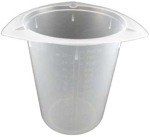 100 X 800Ml Tri-Pour Polypropylene Tri-Pour Beaker No Spill Pour Design