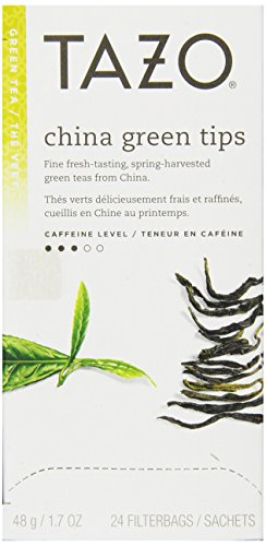 Tazo China Green Tips Filter Bag Tea, 24-Count Packages (Pack Of 6) front-504914