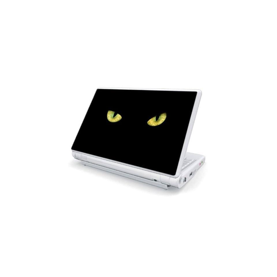 Cat Eyes Design Skin Cover Decal Sticker for Dell Mini 10 / Mini 10v Netbook Laptop Notebook