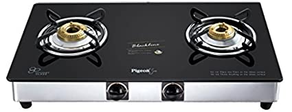 Blackline Square SS Gas Cooktop (2 Burner)