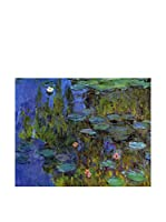 Especial Arte Lienzo Waterlilies 1918/1921 Multicolor